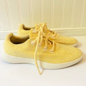 Allbirds Wool Runners Limited Edition Yellow Shoes